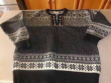 Womens DALE OF NORWAY Classic Wool Norwegian Sweater Pullover M Medium