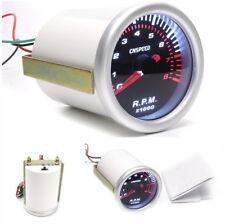 2'' / 52mm Digital LED Tachometer Tacho Tester Gaugefor 4 / 6 / 8 Cylinder Cars