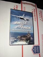 Angle of Attack (DVD, 2011 Military Aircraft carrier jet War Time naval aviation