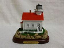 Lefton Historic American Lost Lights St Croix Maine L/E Lighthouse CCM13548