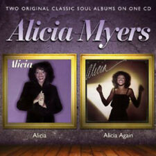 Alicia Myers : Alicia/Alicia Again CD (2012) ***NEW*** FREE Shipping, Save £s