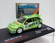 SEAT IBIZA KIT CAR #15 ROVANPERA RAC RALLY 1996 1/43 ALTAYA