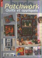 Magazine : Burda Patchwork. Quilts et Appliqués. No 4. Hiver 2004