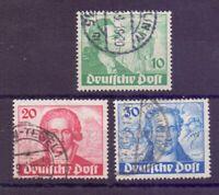 Berlin 1949 - Goethe - MiNr. 61/63 rund gestempelt - Michel 180,00 € (181)