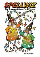 Spellwiz : The Crossword Game for Two Players by Gus St. Anthony (2013,...