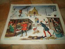 Village Life, Tudor Times (Vintage / Retro) ~ Macmillan History Picture #77