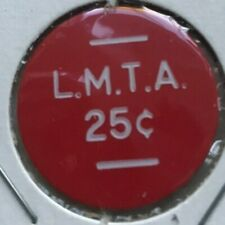 Ludington Michigan MI LMTA 25 Cents Money Chip Transportation Token