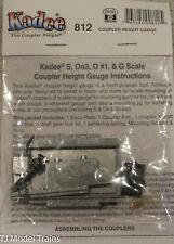 Kadee O #812 Coulper Height Gauge