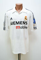 REAL MADRID SPAIN 2002/2003 CHAMPIONS LEAGUE HOME FOOTBALL SHIRT JERSEY ADIDAS