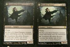 MTG Bloodline Keeper x2 Innistrad Black Rare (2011) Excellent - Unplayed