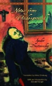 Notes From Underground - Paperback By Dostoevsky, Fyodor - VERY GOOD