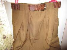 Casablanca Women Brown Skirt Size 12