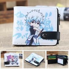 HOt Anime Gintama Cosplay PU Leather Purse Wallet