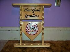 New York Yankees display shelf for standard bats & balls see pics & add
