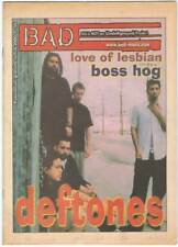 Revista BAD Nº 36. 2000. Love of Lesbian. Boss Hog. Deftones