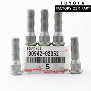 GENUINE TOYOTA 4RUNNER TACOMA LEXUS RX350 WHEEL LUG STUD SET OF 5 OEM 9094202052