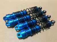 BIG BORE ALUMINUM Shock W/ 4mm Shaft  For Traxxas Nitro Slash Blue
