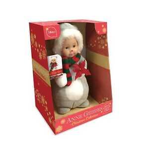 ANNE GEDDES Baby Puppe Polarbär -23cm- VORBESTELLUNG