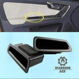 2x Front L+R Door Handle Armrest Storage Box Holder For Volvo XC60 2009-2016