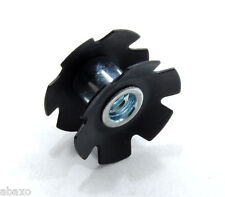 """FSA Headset Star Nut 1-1/8"""" Steel, Black"""