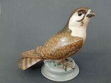 Bing & Gröndahl Vogel Figur, Falke, Mod.Nr. 1666, Höhe 18 cm ,Länge 24,5 cm