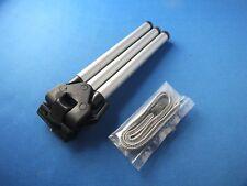 Mini Tischstativ für Foto Videokamera Silber mit Canon Handschlaufe Schlaufe