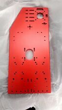 RoverCNC - Hybrid CNC Gantry Plates - 10mm Thickness - RED ANODIZED