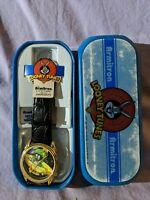 Vtg ~ Looney Tunes Marvin The Martian Armitron Quartz Wristwatch 1996 Gift Box