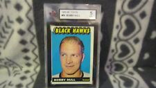 1965-66 Topps hockey card 59 Bobby Hull Chicago Blackhawks