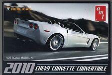 2010 Chevrolet Corvette Convertible AMT Model Kit 1/25 Scale NEW