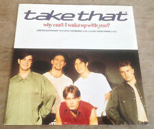 TAKE THAT why can't i wake up with you*promises*clap your hands 1993 UK RCA EP