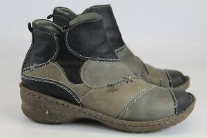 Josef Seibel Gr.37 Damen Stiefel Stiefeletten Boots   Nr. 633 E