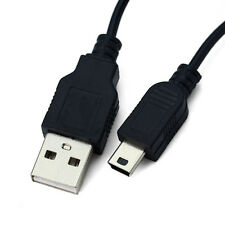 Fine 5 Pin Mini USB Charger + SYNC Cable Cord Lead FOR MP3 MP4 PMP Media Player