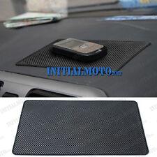 Black Sedan Mobile Cell Phone Sticky Holder Dashboard Sliding Anti Slip Pad Mat