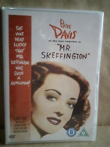 Mr. Skeffington - Bette Davis - Claude Rains - UK DVD - New/Sealed