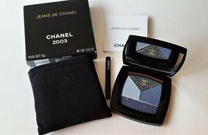 CHANEL Jeans de Chanel 2003 Denim Effect Eyeshadow Palette