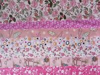 Bundle of 7 Large patchwork squares 20cm X 25cm Choice of Colours - DIY Crafts