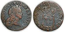 LOUIS XV DEMI SOL AU BUSTE ENFANTIN 1721 A  G.273