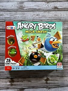 Angry Bird Mega Smash Game Mattel Toys R Us Exclusive All Pieces With Manual