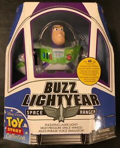 Thinkway Toys Toy Story Collection TALKING BUZZ LIGHTYEAR Figure SEALED