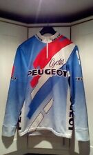 VINTAGE PEUGEOT CYCLES Cycle Jersey Long Sleeved - Size - Medium