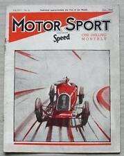 MOTOR SPORT Magazine Jun 1940 Daimler 2.5 Litre Road Test BRESCIA GRAND PRIX