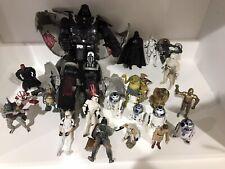 Death Star Transformer Darth Vader and figures lot