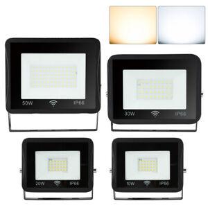 LED Fluter mit Bewegungsmelder Außenlampe IP66 Flutlicht Strahler 10W - 50W