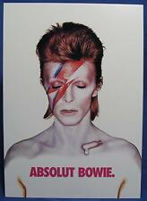 Absolut Bowie David Vodka Tower Records Advertising Print Picture Postcard 2002