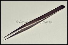 Quality 3 SA Stainless Steel Anti-Magnetic Tweezers Watchmakers Tools Fine Point