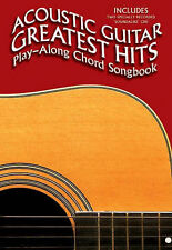 Acoustic Guitar Greatest Hits: Play-Along Chord Songbook. CD, Sheet Music for Ly