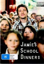 JAMIE'S SCHOOL DINNERS - BRAND NEW & SEALED R4 DVD (JAMIE OLIVER, TV CHEF) 2005