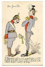 signé D'ANY.KRONPRINZ.GUILLAUME II BOUCHON DE LIèGE.DINER DéCOMMANDé DE PARIS.