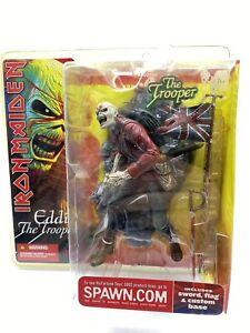 Iron Maiden Eddie The Trooper 6in Action Figure McFarlane Toys